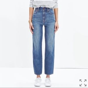 Madewell Westside Straight Jeans (Murphy Wash)